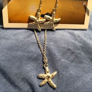 Jewelry - ✂️ Starfish Necklace Earrings Set